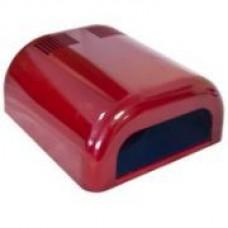 Ультрафиолетовая-лампа для ногтей 36W ASN Tunnel красная
